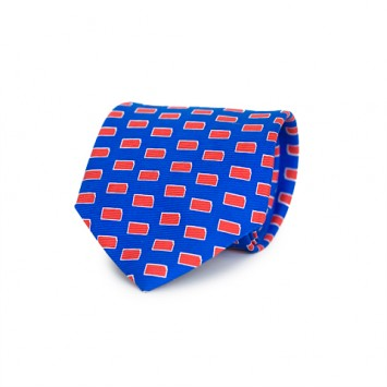 Blue KS Gameday Tie